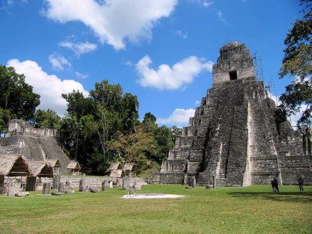 Central Plaza Tikal
